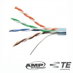 Cable FTP Cat 5e x 305mts Blanco COMMSCOPE AMP