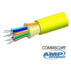 Fibra Optica SM 9/125  6 Hilos IND/OUT COMMSCOPE AMP