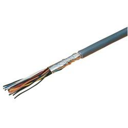 Cable Multipar de 8 PARES Interior Gris x Mt