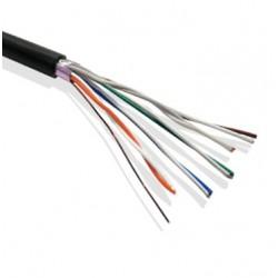 Cable Multipar 8 PARES Subterraneo Exterior Negro x Mt