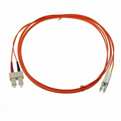 Patchcord SC-LC Duplex MM OM2 (50/125) 1mt