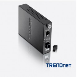 Media Converter 100Base-TX to 100Base-FX DualW SM SC...
