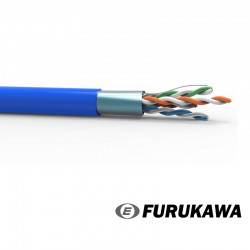 Cable FTP Cat 5e x 305 mts LSZH industrial gris FURUKAWA