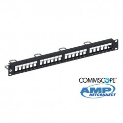 Panel descargado 24p UTP (5e, 6) COMMSCOPE AMP