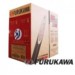 Cable UTP Cat 5e Negro Ext xmt FURUKAWA