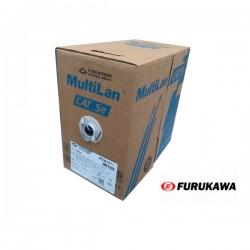 Cable UTP Cat 5e x 305mts Gris FURUKAWA