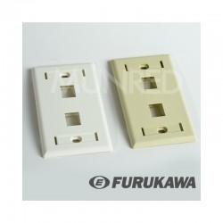 FacePlate 2 Ports FURUKAWA