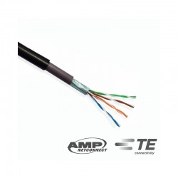 Cable FTP Cat 5e x 305mts Exterior COMMSCOPE AMP
