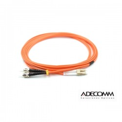 Patchcord LC-ST MM 50/125 OM2 1mt ADECOMM