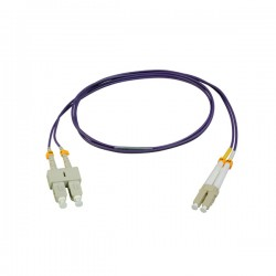 Patchcord SC-LC Duplex MM OM4 (50/125) 1mt